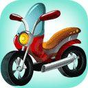 Moottoripyörät Väritys online maali