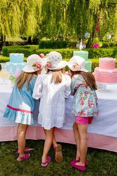 Beautiful Little Girls, Beautiful Children, Summer Kids, Summer 2014, Baby Girl Blue Eyes, Girls Tea Party, Frocks, Princesses, Crochet Baby