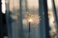 A single sparkle is enough to start a flame...<3