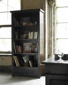 Our Blora living room furniture collection encompasses the traditional look of Lombok. Bookcase With Drawers, Small Bookcase, Bookcases, Simply Storage, Take Me Home, Color Inspiration, Home Remodeling, Living Room Furniture, Teak