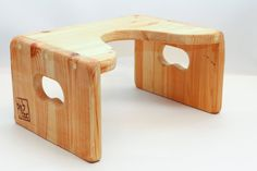 Squat stool toilet stoolwooden stoolFoot Stool High by TomSmaly