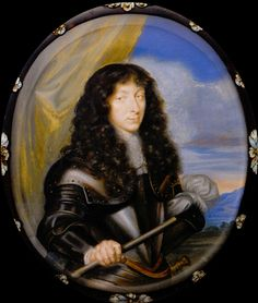 Armand de Bourbon, Prince of Conti (11 October 1629 – 26 February 1666), played a part in the Fronde, became in 1648 commander-in-chief of the rebel army, and in 1650 was with his brother Condé imprisoned at Vincennes, where he turned slightly mad. Having the hots for his sister the Duchess of Longueville, he tried to get her notice him, trying alchemy and potions and eventually bruised himself with a spatula.