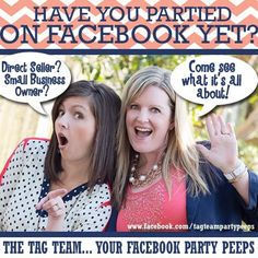 Okay, y'all! We're trying something new...a social media experiment if you will...     Here's the challenge: SHARE this picture with anyone you think could benefit from Facebook Party advice! (Your downline, sideline, upline... people who ride a zipline! Anyone you want!)    Once we reach 250 shares, we'll do a WHOPPER of a giveaway... {ahem!!!} A SPOT IN OUR CAMP WAHOO! (Wahoo!??!!!)     We're not sure this will work... but are y'all up for trying?! {Tag Team crosses fingers here.}