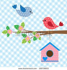 Birdhouse Clipart Vector and Illustration. Birdhouse clip art vector EPS images available to search from thousands of royalty free stock art and stock illustration creators. Applique Templates, Applique Patterns, Applique Quilts, Applique Designs, Embroidery Applique, Quilt Patterns, Embroidery Designs, Applique Ideas, Motifs D'appliques