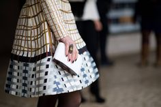 Street Style: Fashion Week Pops Its Collar - The Cut
