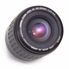Canon EF 80-200mm F4.5-5.6 Telephoto Zoom LENS AF EOS Rebel Full Frame Japan VGC