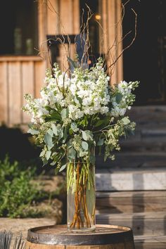 The Enchanted Florist is an award-winning event and wedding florist in Nashville, TN All White Wedding, White Wedding Flowers, Floral Wedding, Dream Wedding, Cheap Wedding Decorations, Wedding Centerpieces, White Floral Centerpieces, Enchanted Florist, Floral Photography