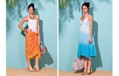 Beachwear, High Low, Blog, Dresses, Fashion, Beach Outfits, Gowns, Moda, La Mode