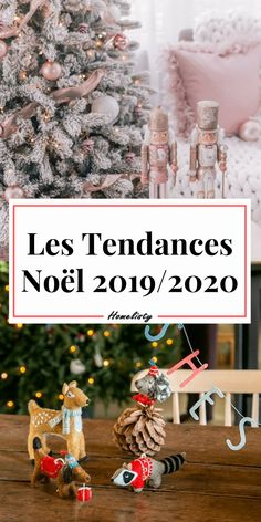 Christmas Gift Ideas 2019 : What are the trends for Christmas this year? Discover the trends that will mark Christmas this year. Big Christmas Tree, Wooden Christmas Ornaments, Simple Christmas, Christmas Tree Decorations, Christmas Diy, Christmas Wreaths, Table Decorations, Holiday Decor, Christmas Trends