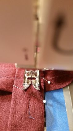stitching at center point