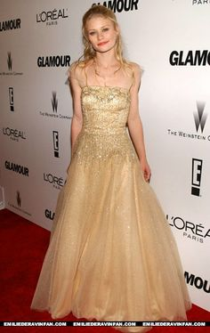 Emilie DeRavin's look - Glamour Golden Globe After Party Emilie De Ravin, Golden Globes After Party, Red Carpet Event, Prom Dresses, Formal Dresses, Glamour, Actresses, Celebrities, Nude