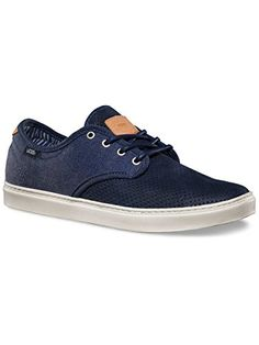 32e76c1608 Amazon.com  Vans Ludlow Clash Blue White Men s Skate Shoes Size 11  Sports    Outdoors