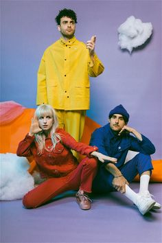 There have always been arrows flying at Paramore, but over the past two years, the band found themselves faced with their worst period of uncertainty. Now they& reached the other side. Pop Punk, Emo Bands, Music Bands, Music Music, Banda Paramore, Paramore Paramore, Hayley Paramore, Helmut Lang, Paramore After Laughter