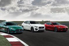Maserati's sedans are getting a big horsepower boost for 2021 | Credit: Maserati Maserati 3200 Gt, Maserati Quattroporte, Maserati Ghibli, Audi Rs, Porsche Panamera, Ferrari, Trident, Mercedes Amg, Pickup Trucks