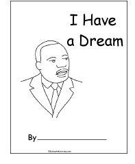 MLK Coloring Printable Via Pearmama See More Enchanted Learning Activities King JrLearning