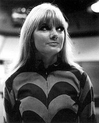 Polly is a fictional character played by Anneke Wills in the long-running British science fiction television series Doctor Who. A young woman from the year 1966, she was a companion of the First and Second Doctors and a regular in the programme from 1966 to 1967.