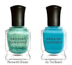 Deborah Lippman's Resort 2012 Colors..i love her nail polish colors, but they're so dang expensive!