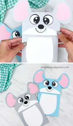 This cute brown paper bag mouse craft for kids is a simple activity to do with the kids. Download the printable template and get the creativity flowing. It's great for preschool, kindergarten and elementary children.   Animal crafts for kids #simpleeverydaymom Paper Animal Crafts, Sea Animal Crafts, Paper Bag Crafts, Animal Crafts For Kids, Crafts For Kids To Make, Craft Activities For Kids, Animals For Kids, Projects For Kids, Art For Kids