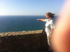Da drüben ist Amerika (Cabo da Roca, der westlichste Punkt Festlandeuropas)