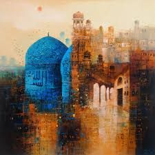 Image result for a q arif paintings