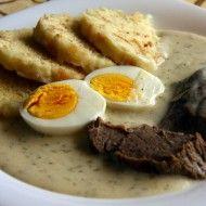 Luxusní koprová omáčka Slovak Recipes, Czech Recipes, No Salt Recipes, Vegan Recipes, Cooking Recipes, Good Food, Yummy Food, Just Eat It, Sweet And Salty