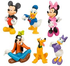 mickey mouse clubhouse character picks for cupcakes | Disney Mickey Mouse Clubhouse Figure Play Set