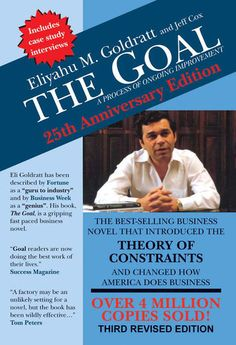 The Goal - Eliyahu M. Goldratt | Management & Leadership...: The Goal - Eliyahu M. Goldratt | Management &… #ManagementampLeadership