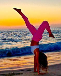 Power grace beauty: Namaste: #brucebeanphotography #yogalife #laguna #lagunabeach #nikkinoce #sunset #beautifulsunsets #southerncalifornia #californiacoast #pch #pacificcoasthighway #canon #canonlife  #FF #instafollow #followback #love #instagood #tbt #photooftheday