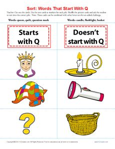 8 letter words starting with q letter q crafts songs rhymes tracer pages coloring 37937