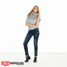 ¡No importa el día, yo siempre uso denim! #ArmaTuOutfit #OggiJeans #Mexico #MyStyle #Moda #SienteElAzul #StreetStyle #DailyOutfit #OOTD #Denim #Jeans #Mezclilla