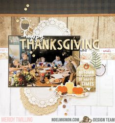 It's Meridy here and fall is in full swing, we had a Fall Festival and a visit to the Pumpkin Patch this weekend. I got lo. Scrapbook Layout Sketches, 12x12 Scrapbook, Picture Layouts, Large Photos, Apple Crisp, Happy Thanksgiving, Pumpkin, Kit, Classic
