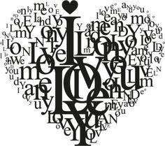 Ich Liebe Dich Herzform