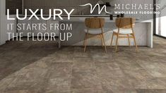 Shaw Floors - SAVE 30-60% Limited Time Sale - Mineral Mix - Canyon - #homedecor, #homegoals, #vinylfloors, #shaw, #LVP, #home, #flooring, #DIY - 800-344-8585 - Call to Save! Luxury Vinyl Tile, Luxury Vinyl Plank, Waterproof Flooring, Vinyl Tiles, Types Of Flooring, Noise Reduction, Laminate Flooring, Floors, Minerals