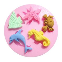 Sea Creatures Silicone Mold