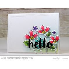 "It's Day 1 of three days of a super fun collaboration between @mftstamps and @xyroninc!  This is my project for the event, which features the Build-Able Bouquet Stamps and Hello There Die-Namics from @mftstamps.  I used the 1.5"" Sticker Maker from @xyroninc to assemble the 4-layer stacked word die cut!! Easy peasy!  Deets on my blog, link in profile!  And there are prizes!  #mftstamps #xyroninc #buildablebouquet #xyronstickermaker #commenttowin #hello #handmadehellocards"