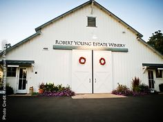 Robert Young Estate Winery Geyserville Weddings Sonoma County Reception Venues 95441