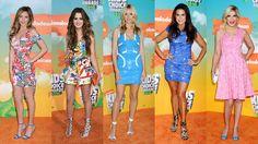 Feirinha Chic : Looks do Kid's Choice Awards 2016