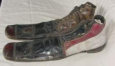vintage clown shoes Clown Shoes, Lon Chaney, Vintage Clown, Circus Clown, Old Shoes, Silent Film, Media Design, Vintage Shoes, Shoe Boots