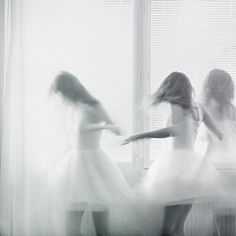 Dancing on my own (by Annika Svenmarck) Exposure Photography, Portrait Photography, Dance Photography, Dancing On My Own, Foto Art, Double Exposure, Chiaroscuro, Monochrome, In This Moment