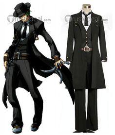 BLAZBLUE Hazama Black Cosplay Costume$63.99
