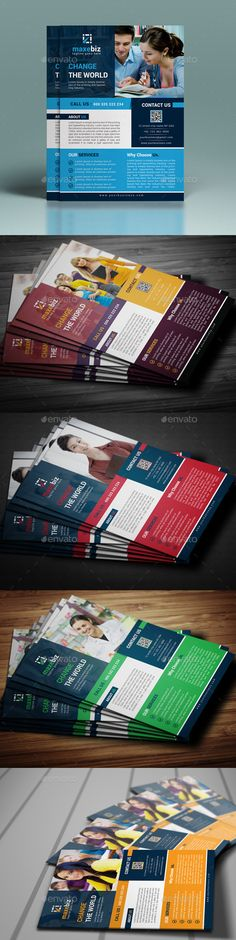 Corporate Flyer Template #design Download http\/\/graphicrivernet - corporate flyer template