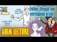 ▶ Follow through and overlapping action - animation principle - YouTube