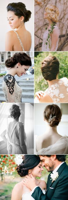 Elegance means effortless beauty, something simple yet effective.  An elegant updo looks classy without trying too hard, and glamorous without being fuzzy and over the top. Elegance is attractive because it's shining despite its restraint and simplicity. If you are looking for a sophisticated and classy hairstyle for your special day, here are some looks …