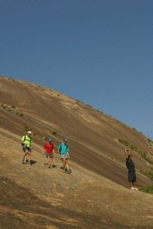Book your guided hiking trail at Sibebe Rock, Swaziland (Eswatini) - Dirty Boots Ayers Rock, Solitude, Hiking Trails, Geology, Attraction, Golf Courses, Community, Australia, In This Moment