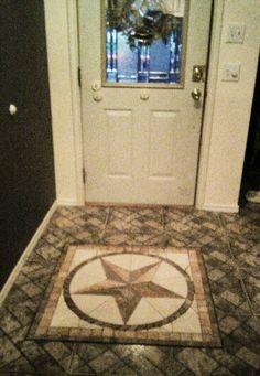 Star on door...star on floor.