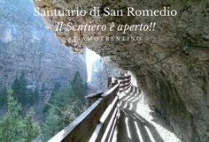 Santuario di San Romedio Il Sentiero è aperto!