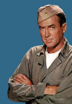 James Stewart retired in 1968 as a US Air Force Major General.