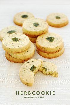 Herbcookie | Bakingschool.co.kr