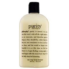 best cleanser iv ever used. So gentle great for sensitive skin. Removes makeup!!