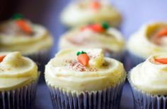 Carrot Cake Cupcakes | Community Post: 18 Easter Themed Cupcakes That'll Make Your Holiday Egg-Cellent
